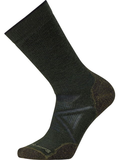 Smartwool PhD Outdoor Medium Crew - Chaussettes - olive